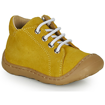 kengät Pojat Korkeavartiset tennarit GBB FREDDO Yellow