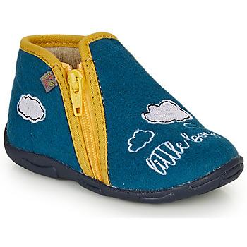 kengät Pojat Tossut GBB OUBIRO Blue / Yellow