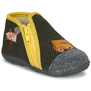 kengät Pojat Tossut GBB OUBIRO Black / Grey