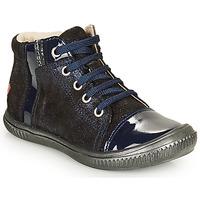 kengät Tytöt Korkeavartiset tennarit GBB OUNA Blue