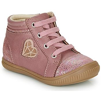 kengät Tytöt Korkeavartiset tennarit GBB OTANA Pink