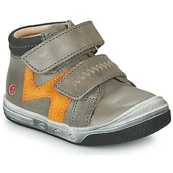 kengät Pojat Korkeavartiset tennarit GBB OGROU Grey