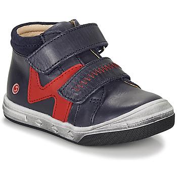 kengät Pojat Korkeavartiset tennarit GBB OGROU Blue / Red