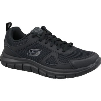 kengät Miehet Juoksukengät / Trail-kengät Skechers Trackscloric Mustat
