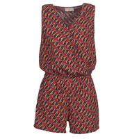 vaatteet Naiset Jumpsuits / Haalarit Moony Mood KETTELLE Red / Multicolour