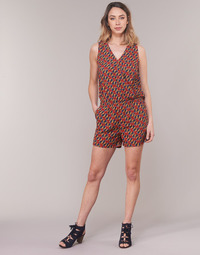 vaatteet Naiset Jumpsuits / Haalarit Moony Mood KETTELLE Red / Monivärinen