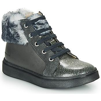 kengät Tytöt Korkeavartiset tennarit Catimini MARCELLE Grey
