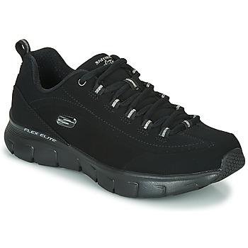 kengät Naiset Matalavartiset tennarit Skechers SYNERGY 3.0 Black