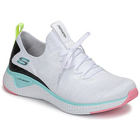 kengät Naiset Fitness / Training Skechers FLEX APPEAL 3.0 White / Pink / Blue
