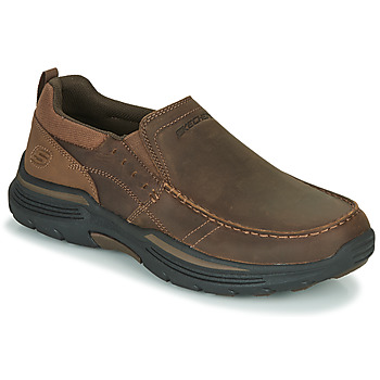 kengät Miehet Tennarit Skechers EXPENDED Brown