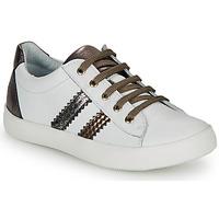 kengät Tytöt Matalavartiset tennarit GBB MAPLUE White