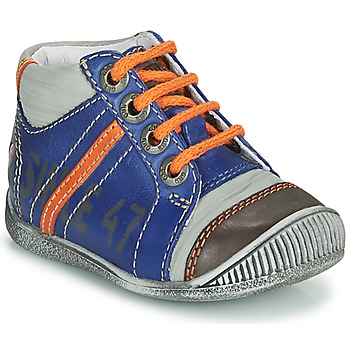 kengät Pojat Bootsit GBB ISIS Blue / Orange