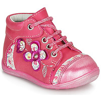 kengät Tytöt Bootsit Catimini CYLENE Vaaleanpunainen