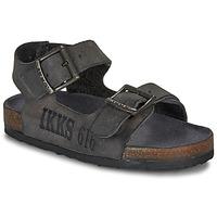 kengät Pojat Sandaalit ja avokkaat Ikks CURTIS Black