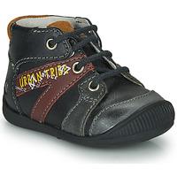 kengät Pojat Bootsit GBB LEWIN Black