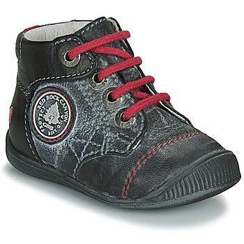 kengät Pojat Bootsit GBB LINDFORD Black