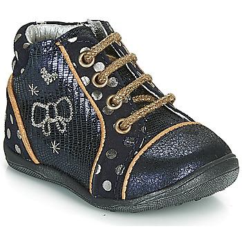 kengät Tytöt Bootsit Catimini CARASSIN Laivastonsininen / Kulta