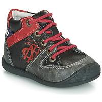 kengät Pojat Bootsit Catimini COMATULE Black / Red