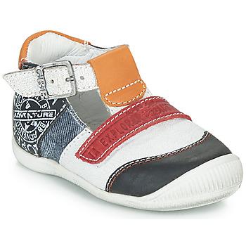 kengät Pojat Sandaalit ja avokkaat GBB MARTIN White / Laivastonsininen