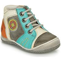 kengät Pojat Bootsit GBB MONTGOMERY Harmaa / Sininen