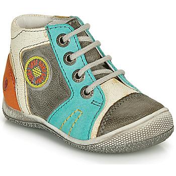 kengät Pojat Bootsit GBB MONTGOMERY Grey / Blue