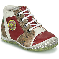 kengät Pojat Bootsit GBB MONTGOMERY Punainen