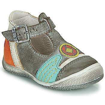 kengät Pojat Sandaalit ja avokkaat GBB MARIO Grey / Blue