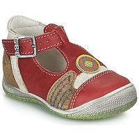 kengät Pojat Sandaalit ja avokkaat GBB MARIO Punainen