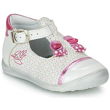 kengät Tytöt Sandaalit ja avokkaat Catimini CALATHEA White / Pink