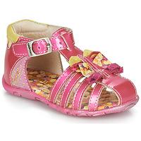 kengät Tytöt Sandaalit ja avokkaat Catimini CYGNE Vaaleanpunainen