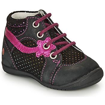 kengät Tytöt Bootsit GBB NOEMIE Black