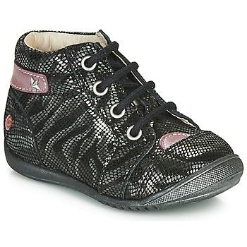 kengät Tytöt Bootsit GBB NICOLE Black / Hopea