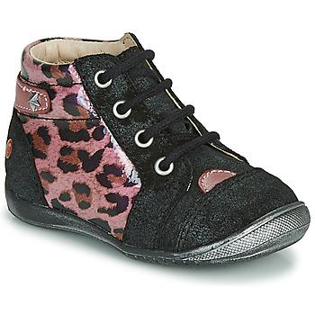 kengät Tytöt Bootsit GBB NICOLE Black / Pink