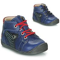 kengät Pojat Bootsit GBB NATALE Blue / Red