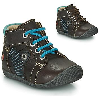kengät Pojat Bootsit GBB NATALE Brown / Blue