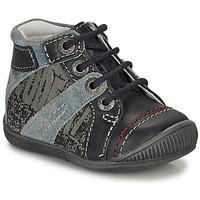 kengät Pojat Bootsit GBB NOLAN Grey / Blue