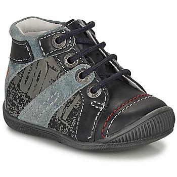 kengät Pojat Bootsit GBB NOLAN Harmaa / Sininen