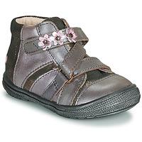 kengät Tytöt Bootsit GBB NICOLETA Vihreä / keltainen / musta / De / Pink