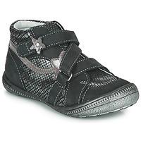 kengät Tytöt Bootsit GBB NINA Black / Hopea