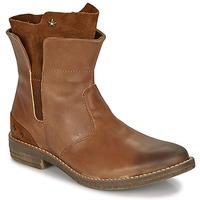 kengät Tytöt Bootsit Ikks PAMELA Cognac