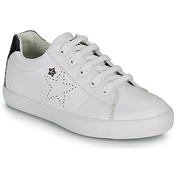 kengät Tytöt Matalavartiset tennarit Ikks MOLLY White / Black