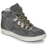 kengät Pojat Bootsit Ikks ISAAC Grey / Kaki