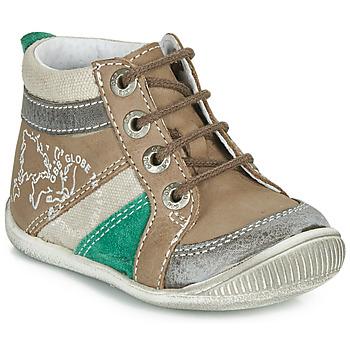 kengät Pojat Bootsit GBB PRAGUE Ruskea