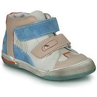 kengät Pojat Korkeavartiset tennarit GBB PATRICK Grey / Blue