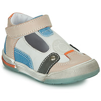 kengät Pojat Sandaalit ja avokkaat GBB PERCEVAL Valkoinen / Beige / Sininen