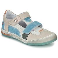 kengät Pojat Sandaalit ja avokkaat GBB PRINCE Ecru / Beige / Blue