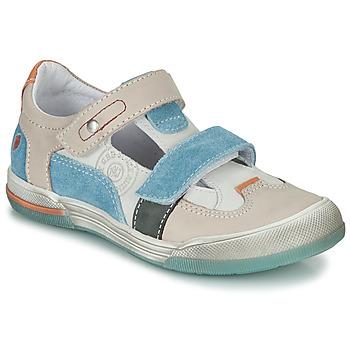 kengät Pojat Sandaalit ja avokkaat GBB PRINCE Vaalea / Beige / Sininen