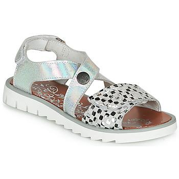 kengät Tytöt Sandaalit ja avokkaat Achile HIKARI Hopea