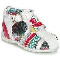 kengät Tytöt Sandaalit ja avokkaat Catimini PERSAN White / Monivärinen