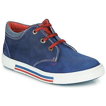 kengät Pojat Matalavartiset tennarit Catimini PALETTE Blue / Red